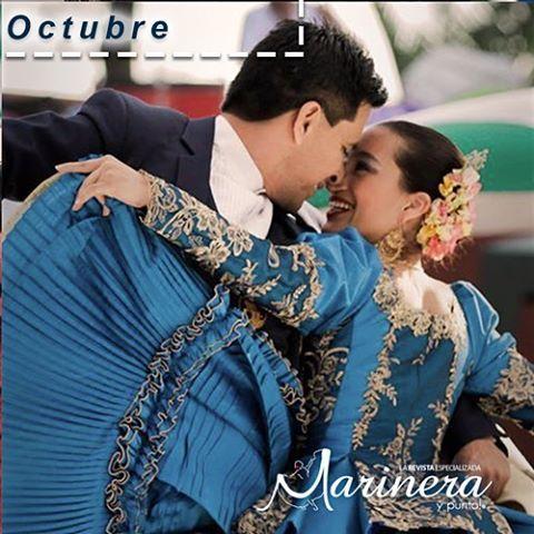 """Hoy celebramos nuestro """"día a la marinera"""", realizando año tras año diversas actividades culturales en todo el país y el mundo. Una de las tradiciones de baile que con orgullo enriquece nuestra cultura Peruana. ¡Celebremos nuestro día a punte de baile! <3"""