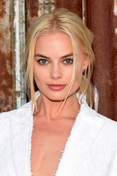 Actress Margot Robbie attends the Givenchy fashion show during Spring 2016 New York Fashion Week at Pier 26 at Hudson River Park on September 11, 2015 in New York City.