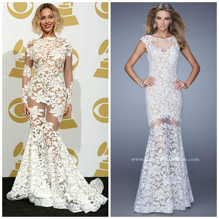 Beyonce lace dress grammys 2018