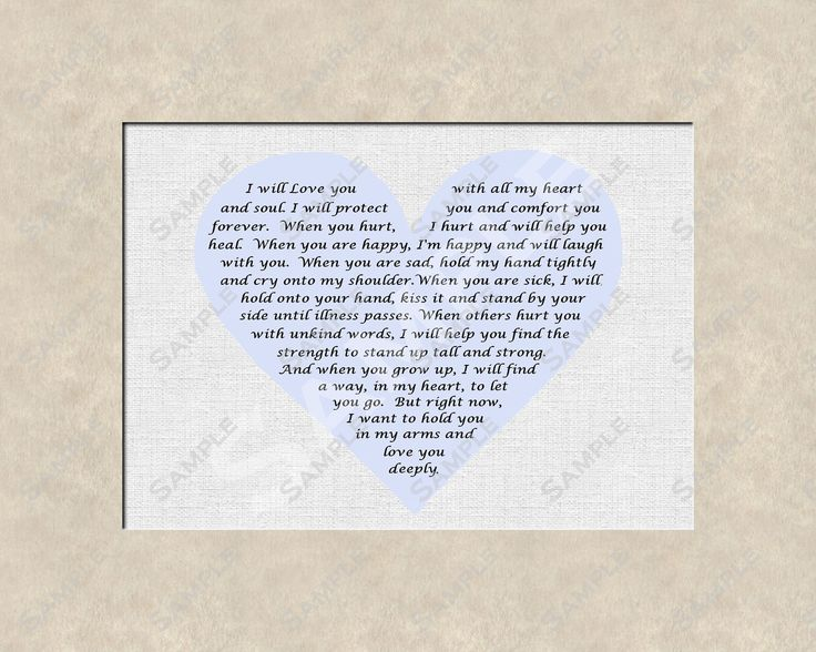 Baby Christening Gifts | Baby Boy Poem Birthday Baptism Christening Gift Digital Download