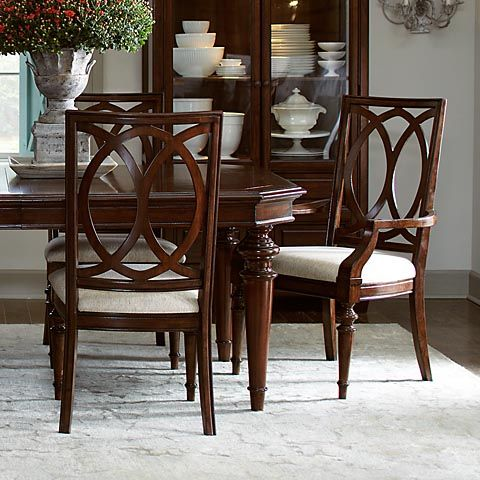Highlands Pierced Back Chairs Fro Bassett Small Dining