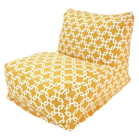 I pinned this Victoria Bean Bag Chair in Yellow from the Majestic event at Joss and Main!