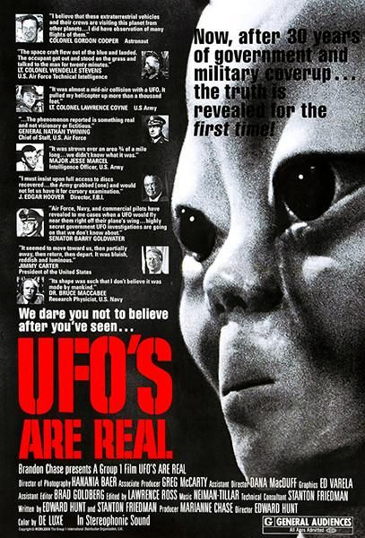UFO's Are Real - 1979 - Movie Poster