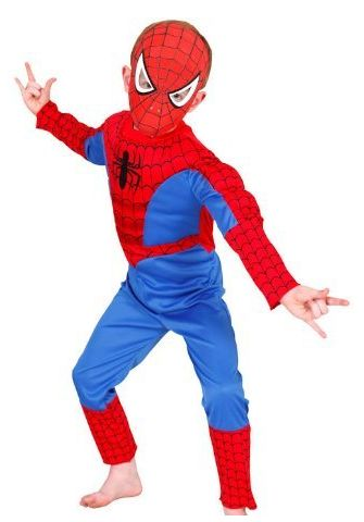 Kids Spiderman Costume.