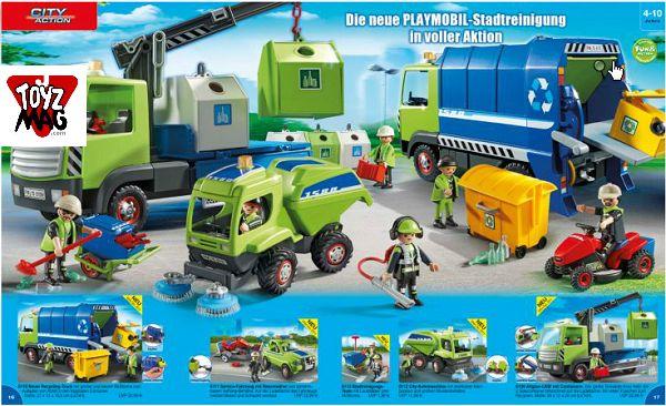 Playmobil - Camion poubelle