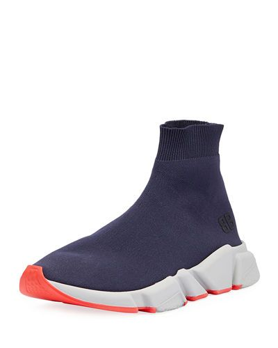 8ab87d0c8938 BALENCIAGA SPEED MID-TOP TRAINER SOCK SNEAKER.  balenciaga  shoes ...
