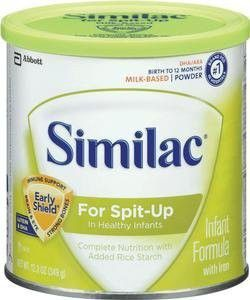 Similac® For Spit-Up® Infant Formula Powder with Iron 12.3 oz, 1800 Cal - 6 CT.