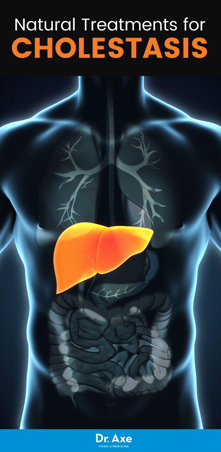 Cholestasis is a condition that's characterized by the flow of bile from the liver slowing down or stopping, which can be caused by disorders of the liver, bile duct or pancreas.