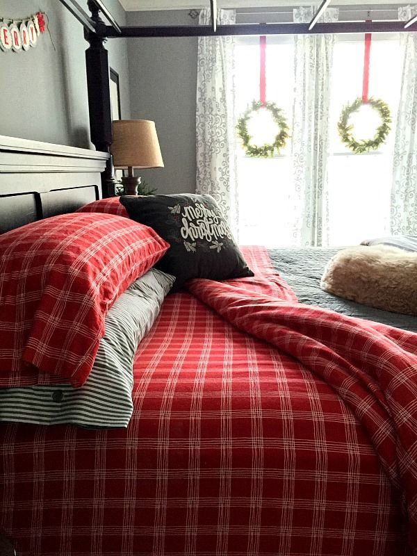 Christmas Bedroom Ideas 252 best christmas bedrooms images on pinterest | christmas