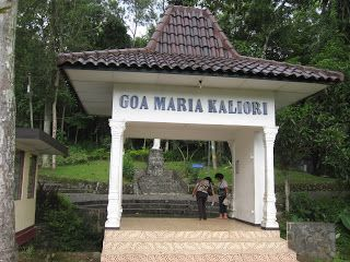 Wisata Religi Kristen Katholik Jogja: Gua Maria Kaliori - Purwokerto