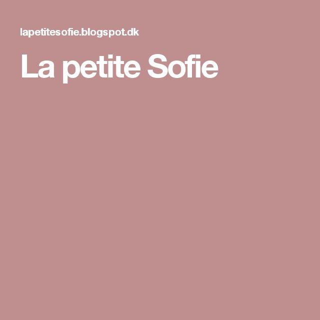 La petite Sofie