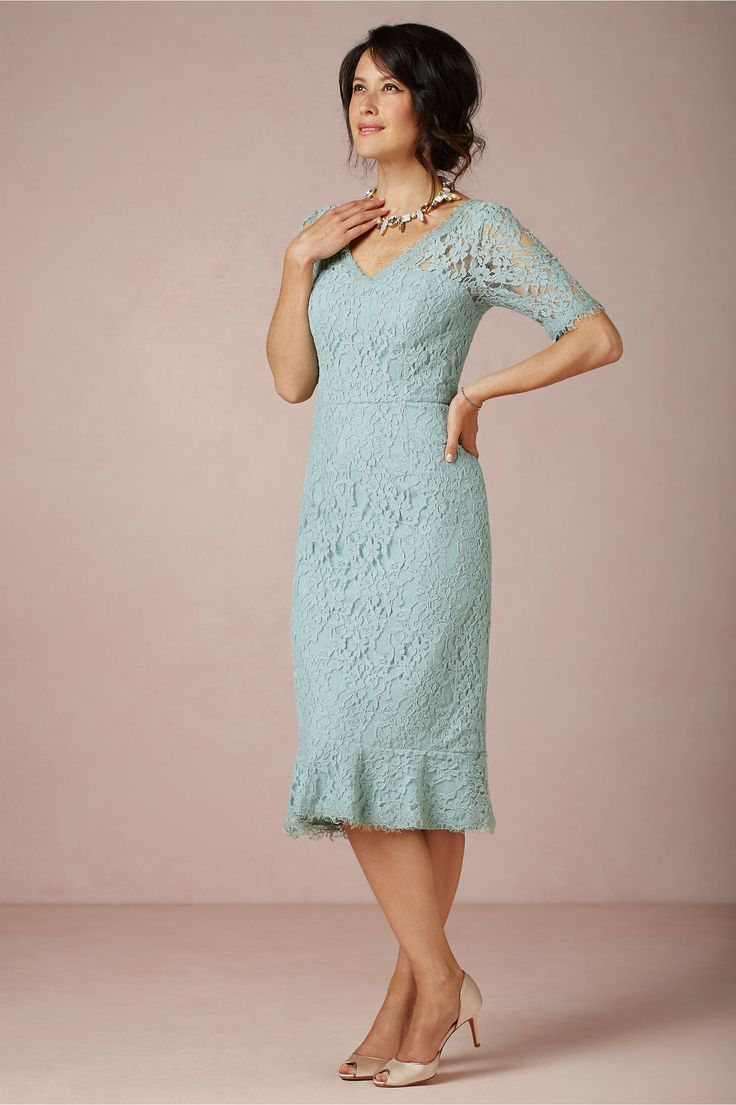 Tiffany Blue Mother of the Bride Dresses Tea Length – fashion dresses