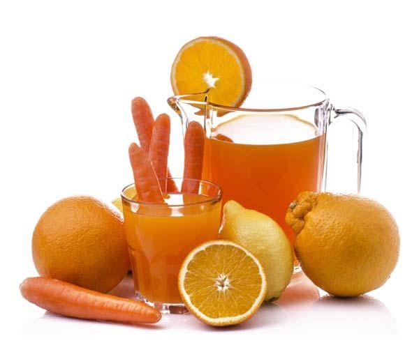 Centrifugati Depurativo   ACE - 3 carote, 3 arance, 1 limone