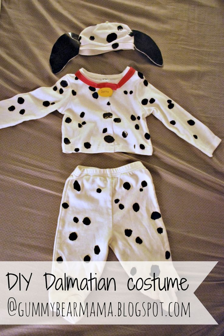 Since her older brother dressed up as a firefighter this year, I got the idea that Abby should dress up as a Dalmatian. Jonathan really ado...
