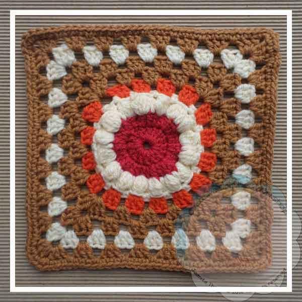 72 besten CAL BAMCAL 2012-2016 Block A Month crochet along Bilder ...