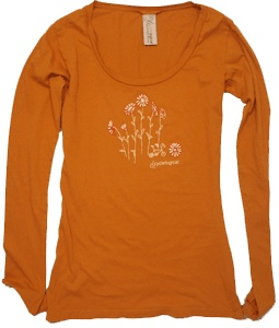 Cycling T-Shirt Flower Forest by Cyclelogical