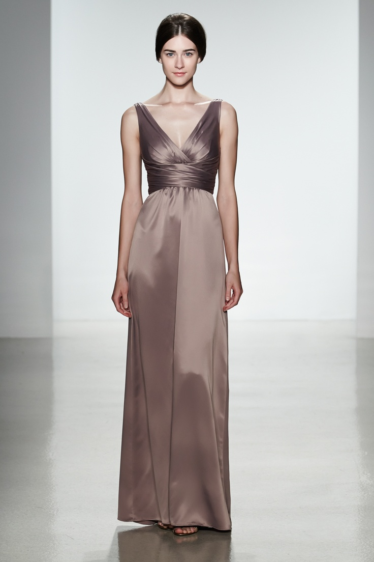 46 best bridesmaid dresses images on pinterest clothes clothing long bridesmaid dresses by amsale style g792h in truffle charmeuse ombrellifo Gallery