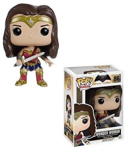 "Funko Pop Wonder Woman DC Batman vs Superman 3.75"" Vinyl Bobble Head Figure Toy #Funko"