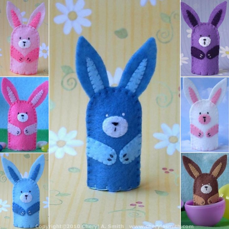 felt finger puppet patterns free - Google Search | Craft ...