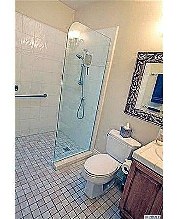 curbless shower - 19102 Tanglewood ln #1 huntington beach ca Master bathroom idea