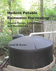 When you're off the grid, or getting ready for the day that we're all off the grid, Collecting rainwater is a great option.