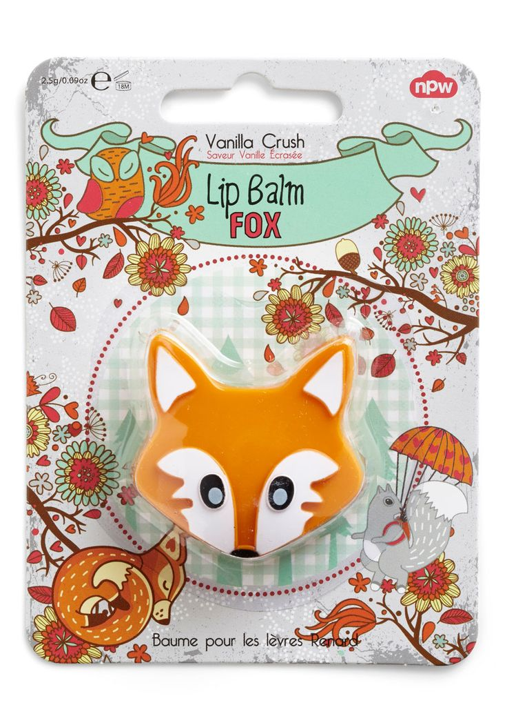 """Fun on the Run Lip Balm in a cute Fox compact! 