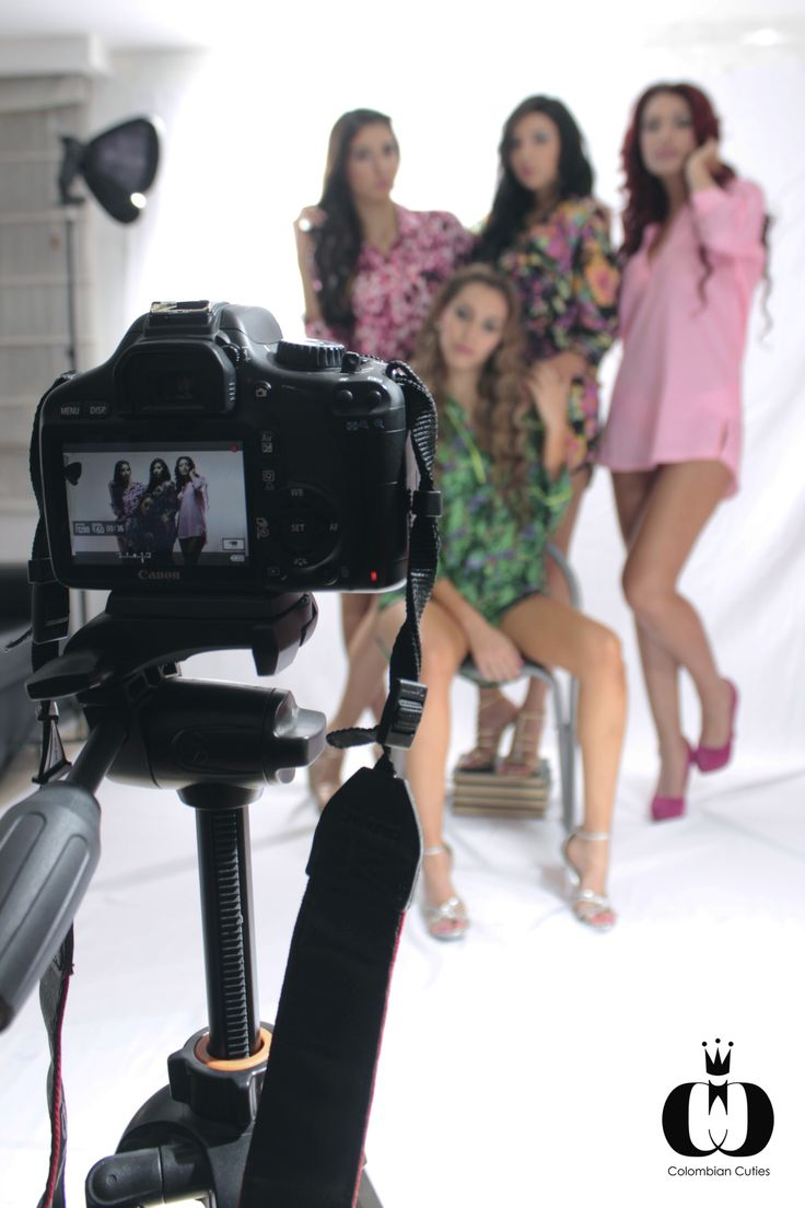 """The Colombian Cuties """"Sleepover"""" theme was a HUGE success for Dolce D'amore Pijamas & The Colombian Cuties Team.  #BTS #models #fashion #pijama #photography #colombian"""