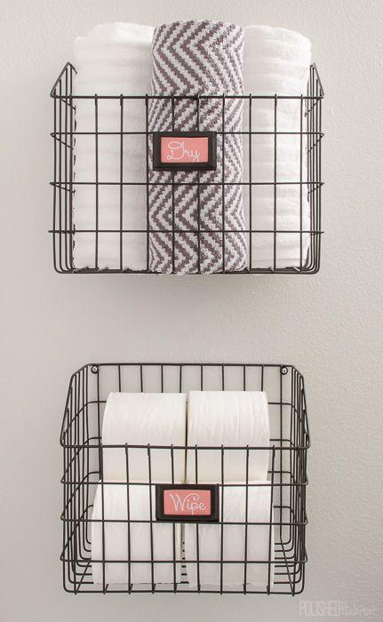 Bathroom Baskets best 25+ diy bathroom baskets ideas on pinterest | basket bathroom