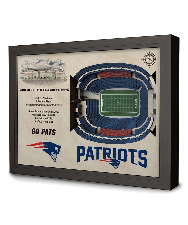 New England Patriots Gillette Stadium Wall Art