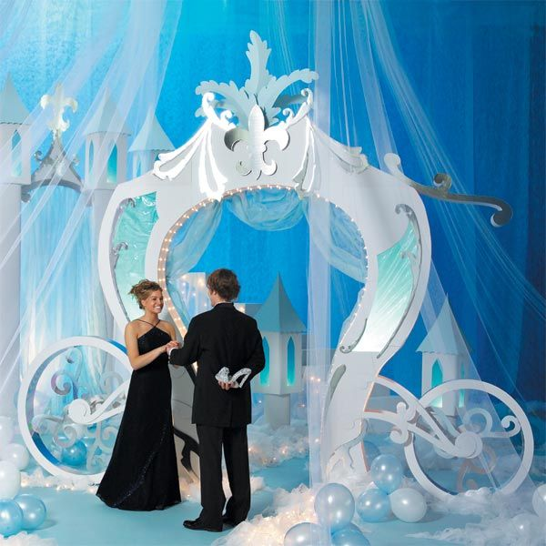 Cinderella Fairy Tale #prom theme is elegant and formal. #promnation