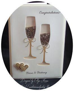 My Visual Poetry: Wedding Shaker Card