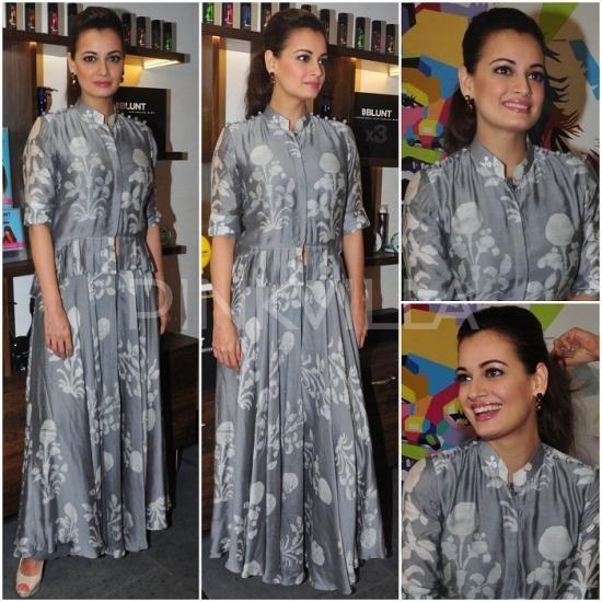Diy maxi gown. Yay or Nay : Dia Mirza in Myoho