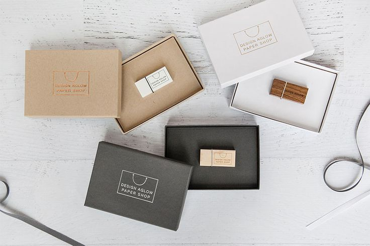 USBs and redo luxe Presentation Boxes from Design Aglow