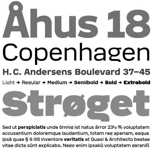 Dane typeface