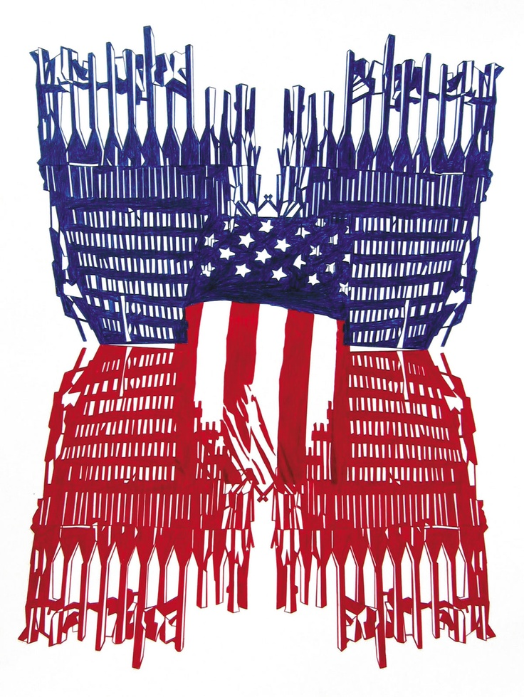 WTC Flag #1 by George Kazazis | Artia Gallery