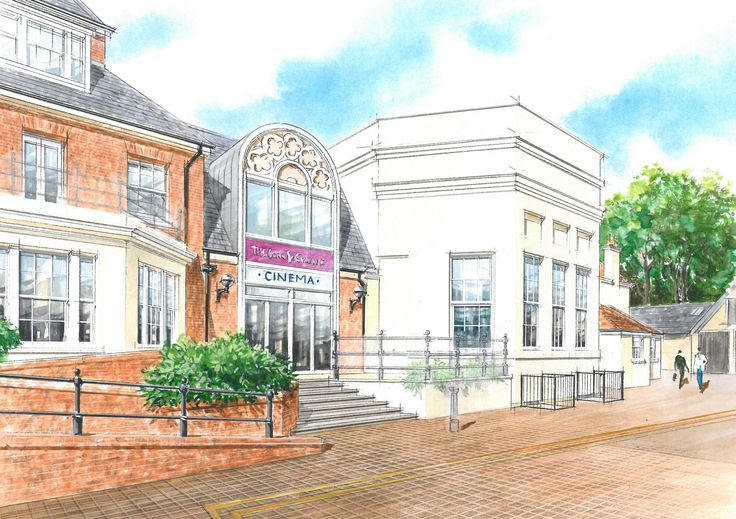 Douglas Moat Practice - Artist's Impression - Curzon Cinema, Tunbridge Wells Corn Exchange