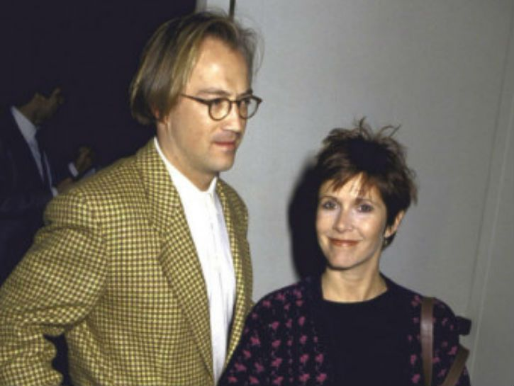 CARRIE FISHER had a short relationship with casting agent Bryan Lourd which resulted in birth of their daughter, Billie Catherine. After 3 years, Lourd broke things off to be with another man.