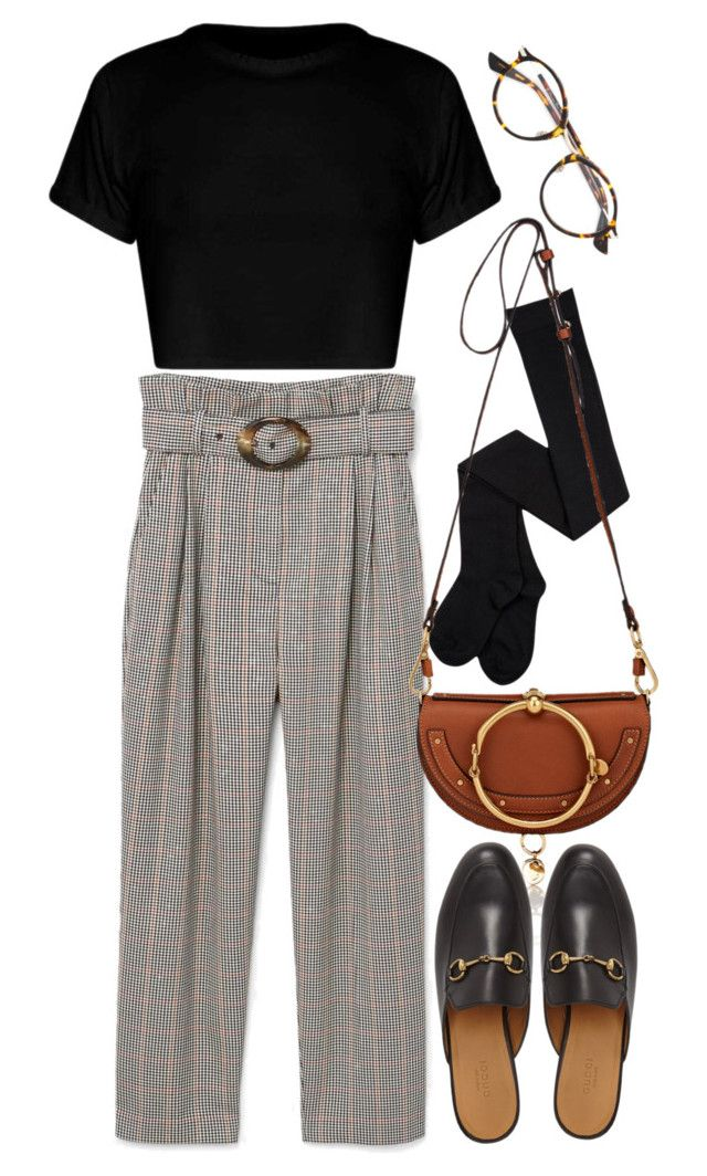 """""""Untitled #11186"""" by nikka-phillips ❤ liked on Polyvore featuring Christian Dior, MANGO, Chloé and Gucci"""