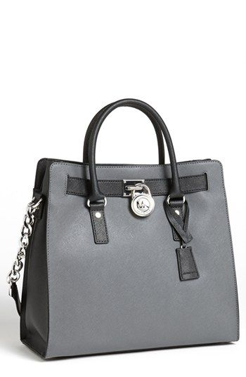 MICHAEL Michael Kors 'Hamilton - Large' Saffiano Leather Tote available at #Nordstrom