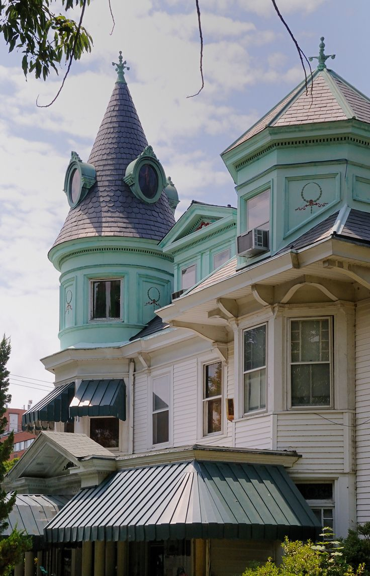 victorian painted lady porch - photo #9