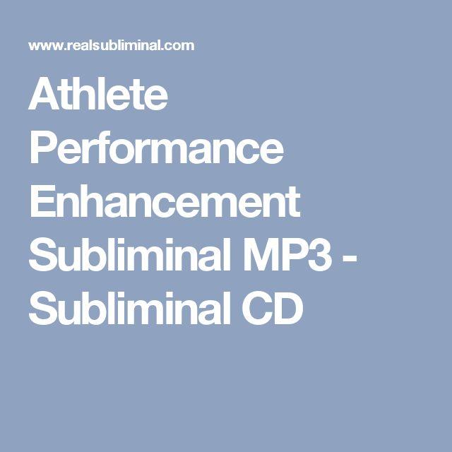Athlete Performance Enhancement Subliminal MP3 - Subliminal CD
