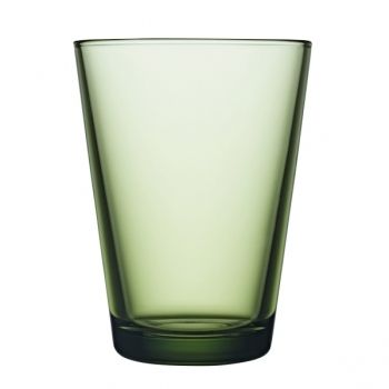 Kartio juomalasi 40 cl, metsänvihreä, 2 kpl