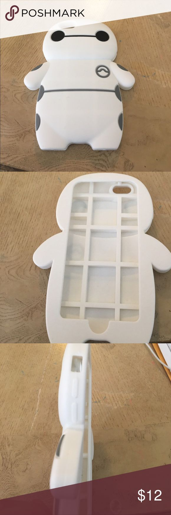 Big hero six phone case It's for iPhone6 or iPhone6S big hero 6 case white and is so cute  Other