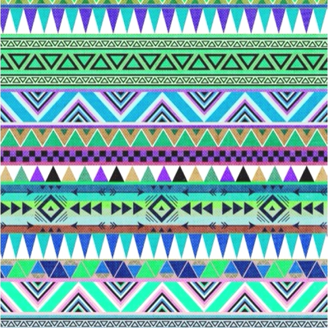 Summery tribal pattern...love as a background! | iPhone ...