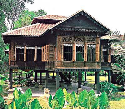 A traditional Malay house