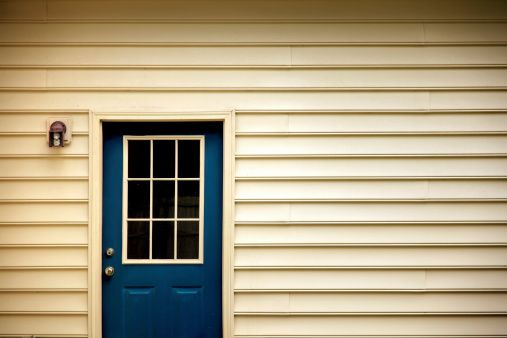 Royalty-free Image: back door