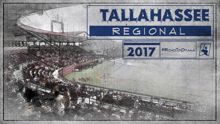 TALLAHASSEE REGIONAL GAME TIMES - JUNE 2  #2 UCF vs. #3 Auburn - NOON ET #1 Florida State vs. #4 Tennessee Tech - 6 PM ET