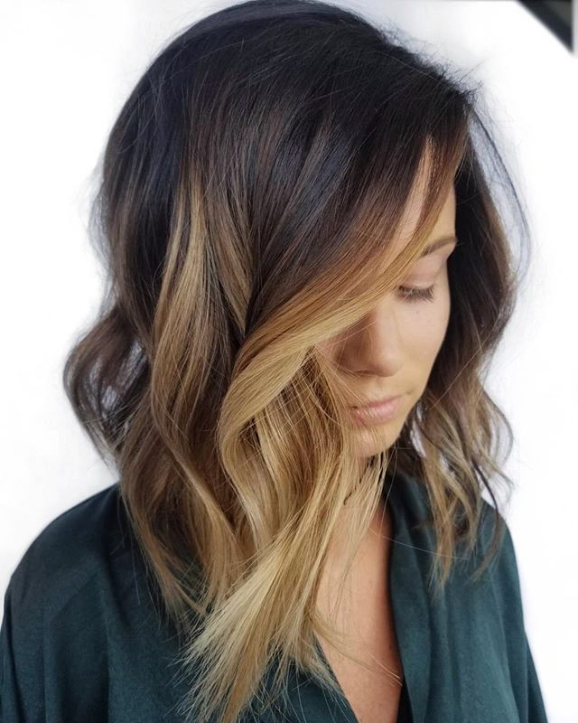 Deeply Caramelized Bangin Base Provided By The Redken Color Gel Lacquer Permanent Color 3nw Sealed Shin Hair Styles Long Hair Styles Cool Hair Color