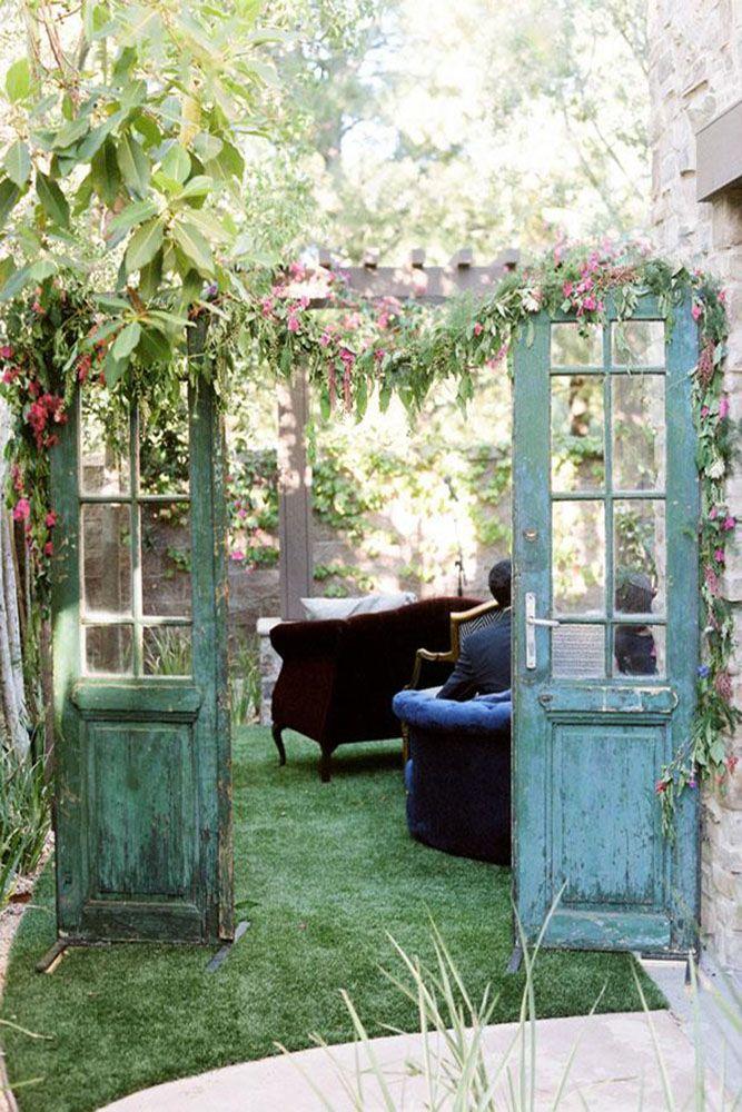30 Rustic Old Door Wedding Decoration Ideas Walker Wedding