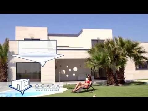 video de nuestra nueva vivienda de hormigon en nuestra exposicion casa de estilo moderno